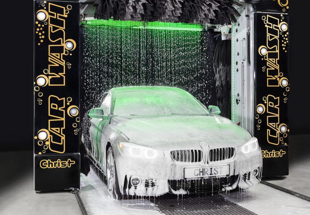 Profesjonalna chemia dla myjni samochodowych Christ